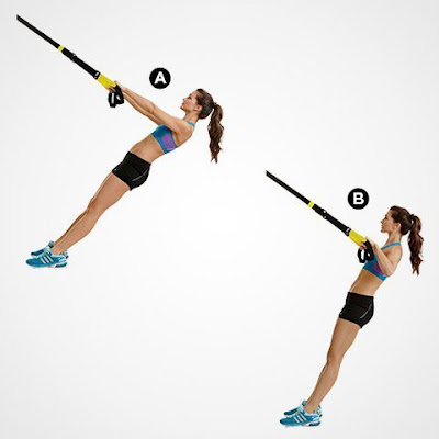 Best Back Workout For Women's- Suspended Row