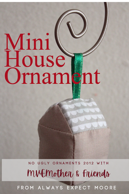Sewing House Christmas Ornaments