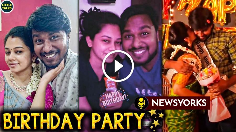 பிக்பாஸ் அனிதா-க்கு SPECIAL SURPRISE கொடுத்த கணவர் பிரபா !!