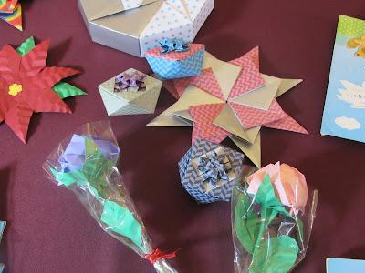 Diferentes formas de origami