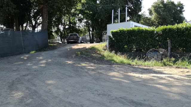 Rampa de acesso ao Parque de Merendas