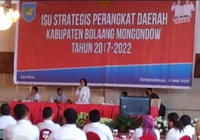 Bahas Program Kerja, Yasti Kumpul SKPD se Bolmong
