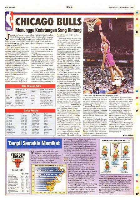 Basket NBA: CHICAGO BULLS Menunggu Kedatangan Sang Bintang