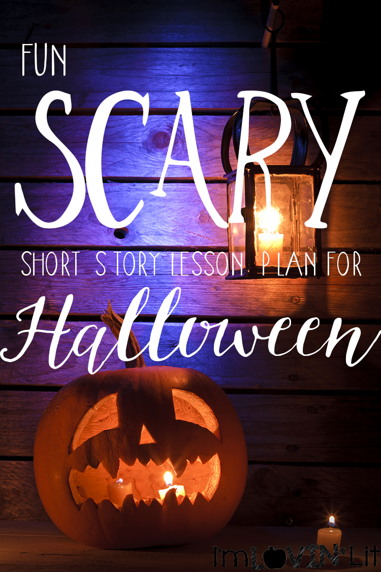 Halloween Schort.Scary Short Story Lesson Plan For Halloween Peek At My Week