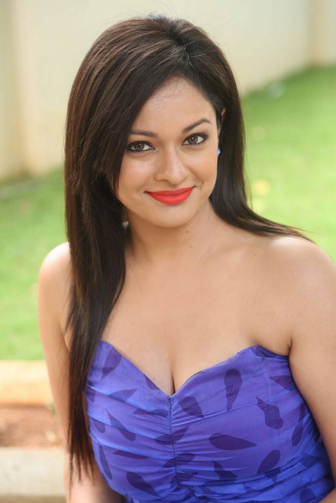 Pooja Kumar At Garuda Vega Movie Teaser Launch Event Stills