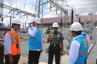 Pangdam XII/Tpr : TNI Dukung Percepatan Pembangunan Kelistrikan di Kalbar