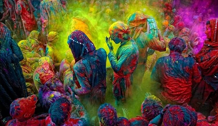 Holi Status Messages Images