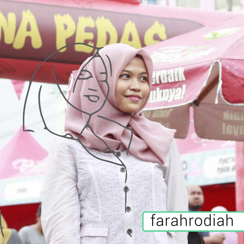 beauty blogger farah rodiah