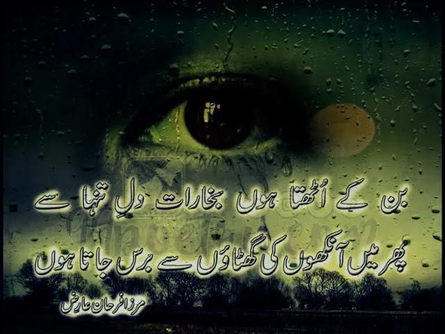 Best Urdu Mirza Farhan Ariz Shayari -Mirza Farhan Ariz