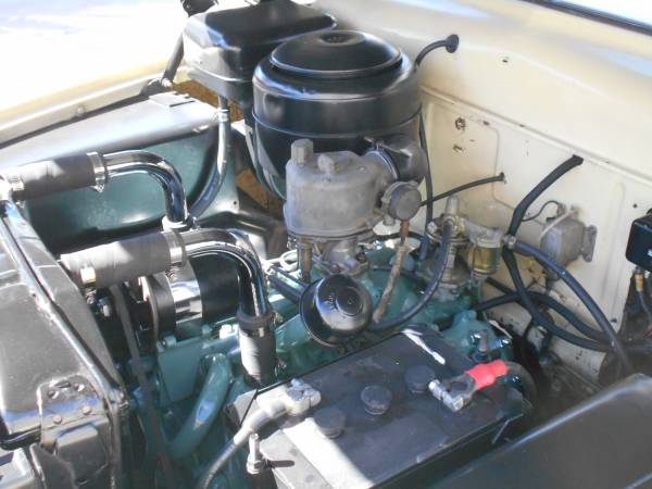 1951 Mercury Engine