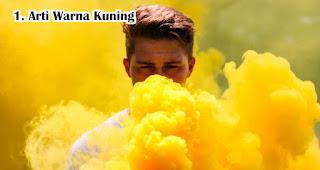 Arti Warna Kuning Dalam Pemilihan Souvenir