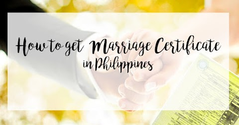 How to get Marriage Certificate Online in the Philippines