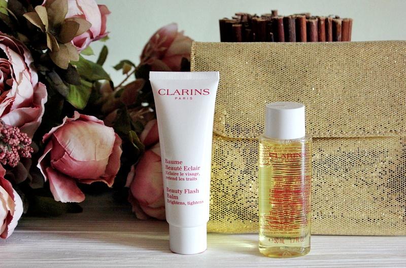 Clarins: Бальзам для лица мгновенного действия  Beauty Flash Balm и тонизирующий лосьон с экстрактом ромашки Toning Lotion With Chamomile / обзор, отзывы