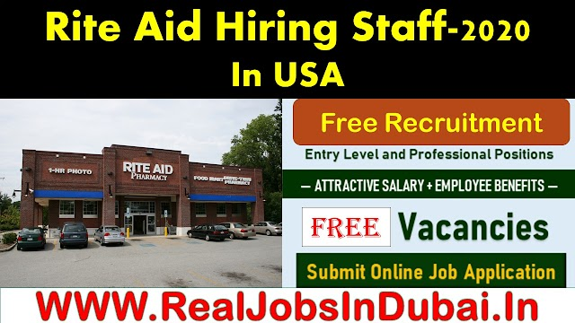 Rite Aid Careers 2020 Vacancies In US.