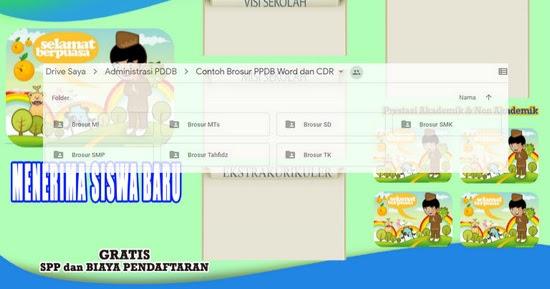 Contoh Brosur Ppdb 2020 Format Microsoft Word Administrasi Pendidikan