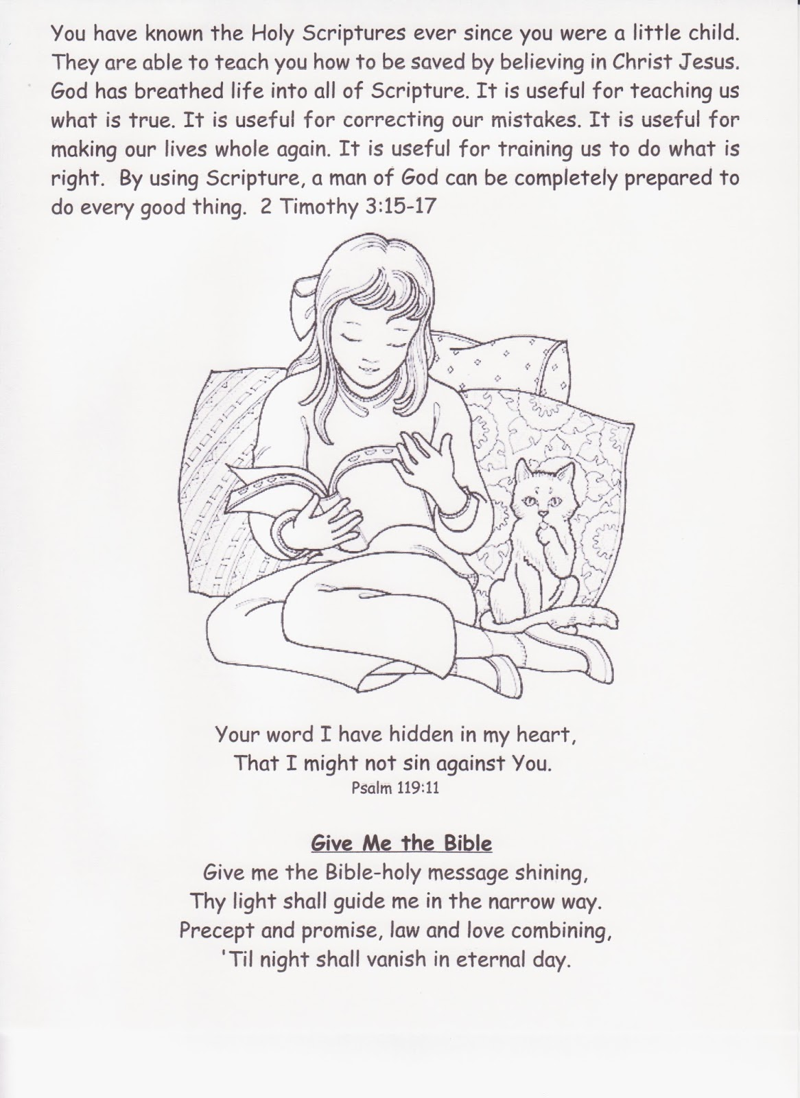 Storytime At Church: February 2014