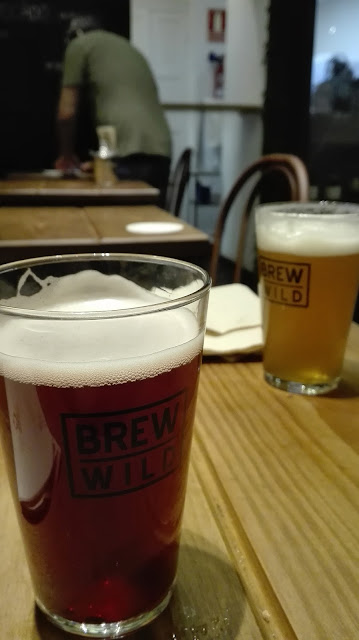 BREW WILD PIZZA BAR, pintas
