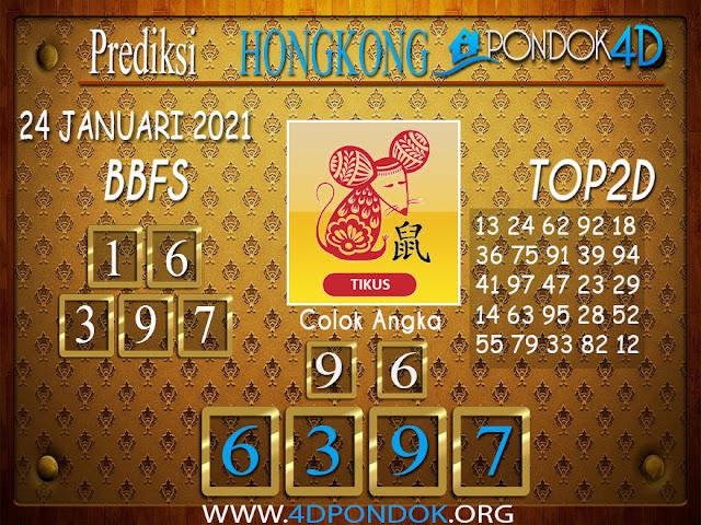 Prediksi Togel HONGKONG PONDOK4D 24 JANUARI 2021