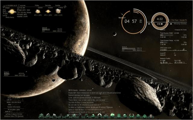 Meteor Glimps Skin Download