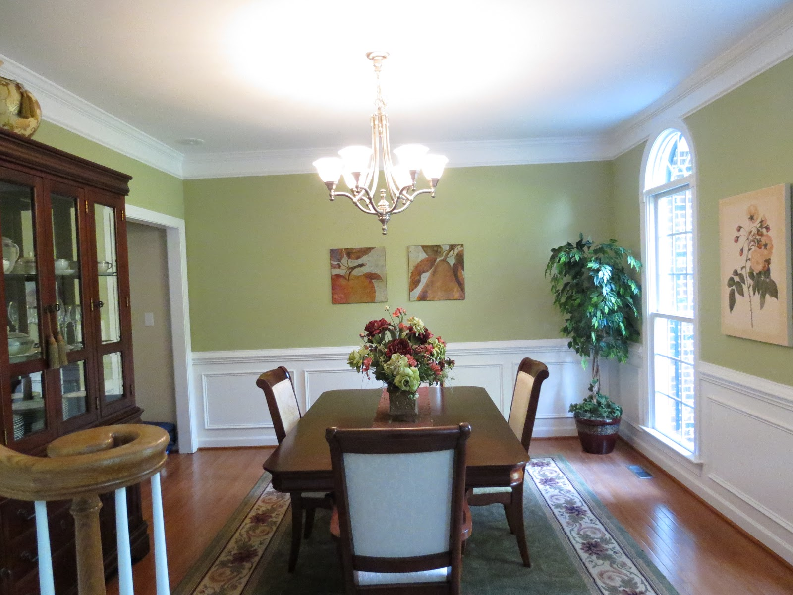 """Benjamin Moore Georgian Green linda beam - """"an affection for staging"""": feast your eyes on"""