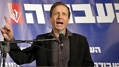 زعيم المعارضة الإسرائيلية اسحق هيرتزوج