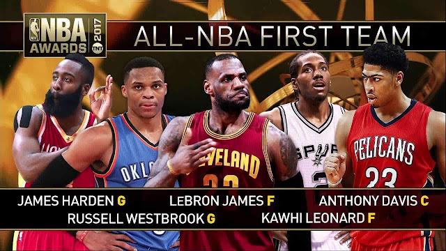 NBA 球迷必備的籃球詞彙 (人員篇) - 最佳陣容
