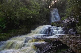 Mclean Falls Nueva Zelanda