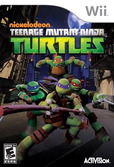 teenage mutant ninja turtles spproper - Download Teenage Mutant Ninja Turtles 2016 Wii For Free