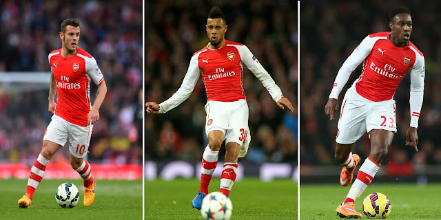 Arsenal injury triple boost ahead of Stoke clash