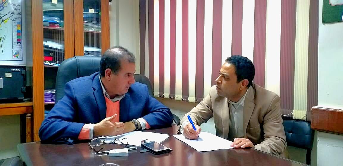 اللواء أحمد مرزوق رئيس مركز ومدينة كفر كفر الدوار لإسرار نيوز