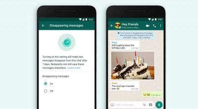 WhatsApp messages will be deleted, Messenger will notify you when you take a screenshot