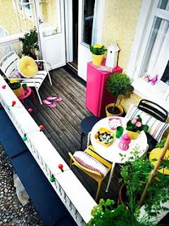 Decoración de balcones