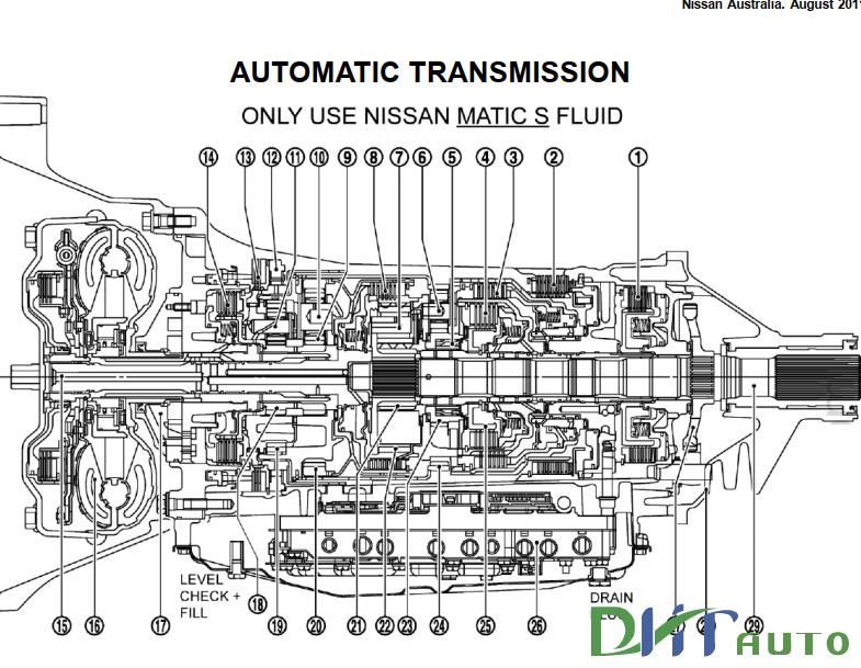 Nissan D40 Navara ST-X 550 & R51 Pathfinder Ti 550 2011
