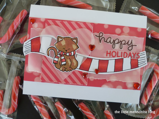 Happy Holidays by Dawn features Newton's Holiday Mischief by Newton's Nook Designs; #newtonsnook