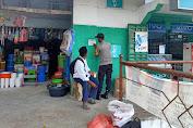 Personil Polsek Enrekang Beri Himbauan Protokol Kesehatan di Pasar