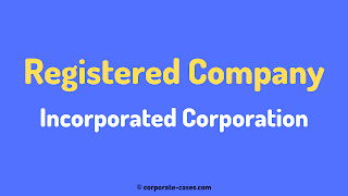 what is incorporated corporation