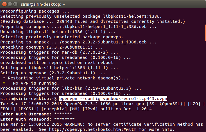 Tutorial Installasi Dan Menggunakan OpenVPN di Linux Ubuntu, Install OpenVPn, Free OpenVPN