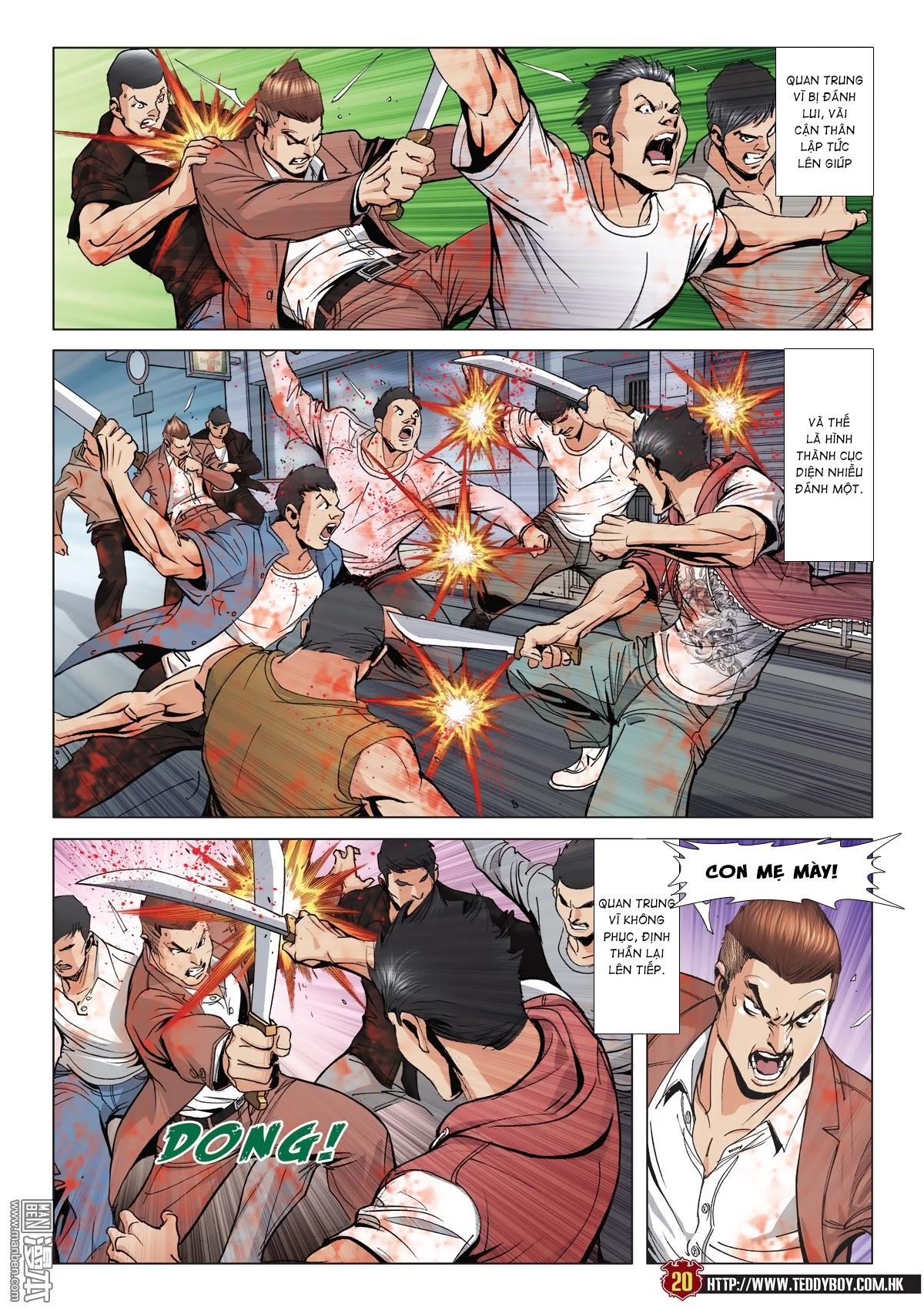 Người Trong Giang Hồ chapter 2015: tọa sơn hổ vs đại phạn trang 17