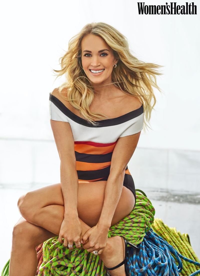 Carrie Underwood for Women's Health April 2020