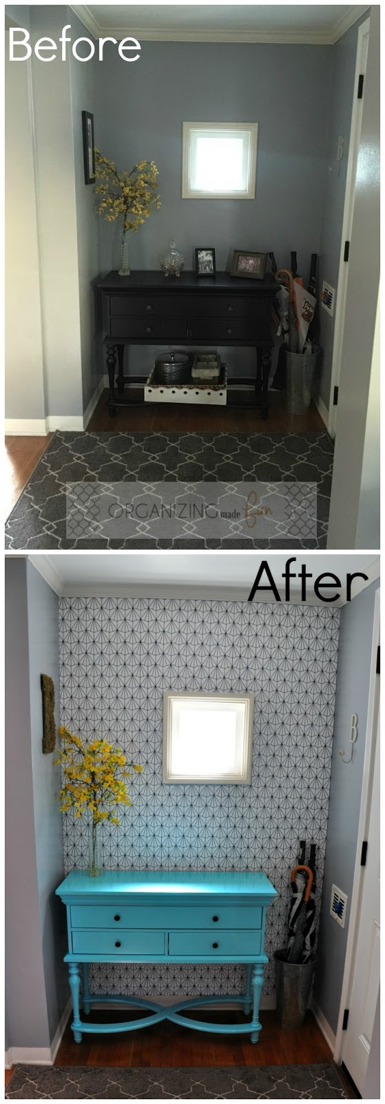 From drab to fab entry :: OrganizingMadeFun.com