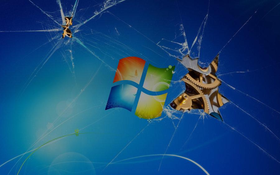 Windows 7 Seven Wallpaper Fondos De Escritorio Wallpapers: World Wildness Web: Crash Windows Wallpapers
