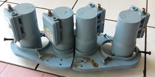 Cara modif 4 lnb untuk tangkap Telkom 3s