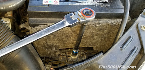 Fiat 500 Abarth Battery Hold Down Bolt