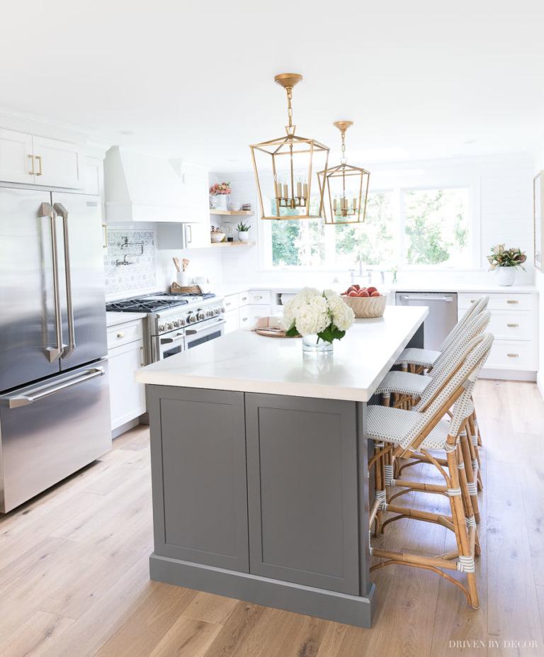 Kitchen Remodels Ideas With White Cabinets: Blanco Interiores: Vivam Os Antes E Depois! Vivam