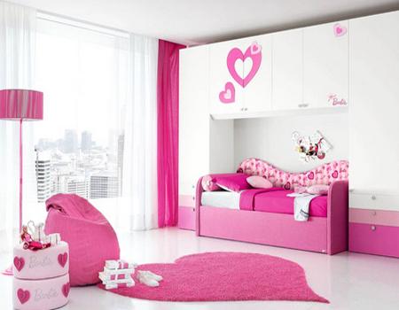Desain Kamar Tidur Anak Perempuan Remaja - Desain Rumah ...