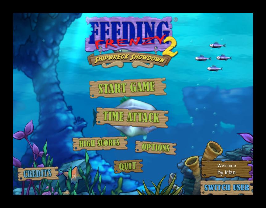 Feeding Frenzy 2 Deluxe - Katılımsız Oyun