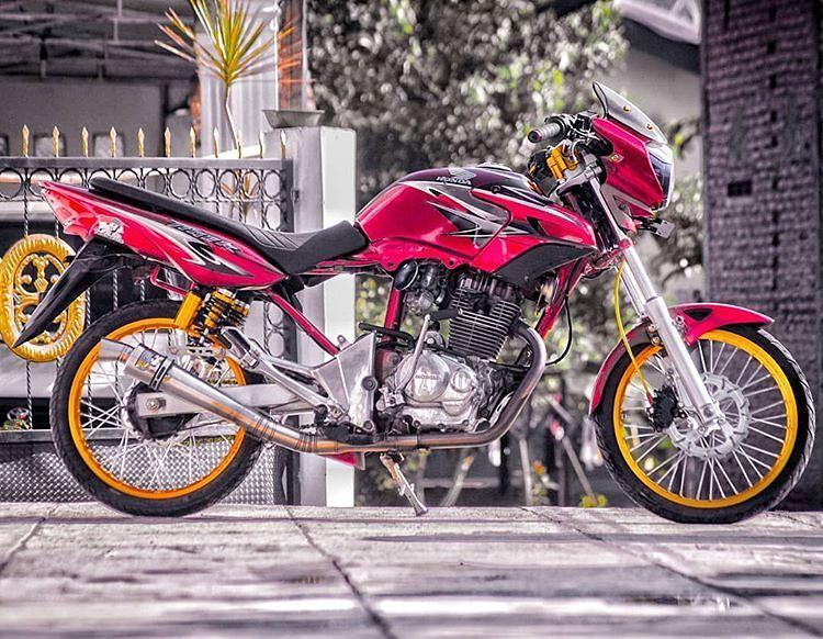 20 Kumpulan Foto Atau Gambar Modifikasi Honda Tiger Revo
