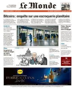 Le Monde Magazine 1 December 2020 | Le Monde News | Free PDF Download
