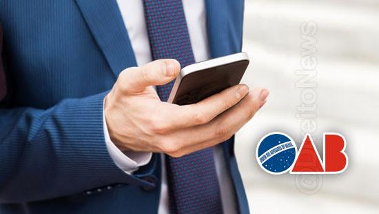 carteira digital oab facilidade praticidade advocacia