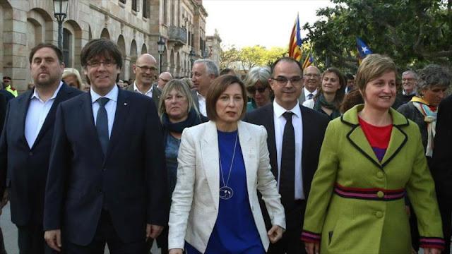 Cataluña: España criminaliza las ideas y la libertad de opinión